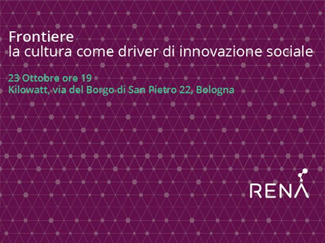 Cultura e innovazione sociale: appuntamento a Bologna il 23 ottobre