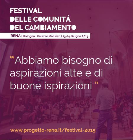 Ecco a voi il programma del #RENAfestival 2015. Ci vediamo a Bologna!