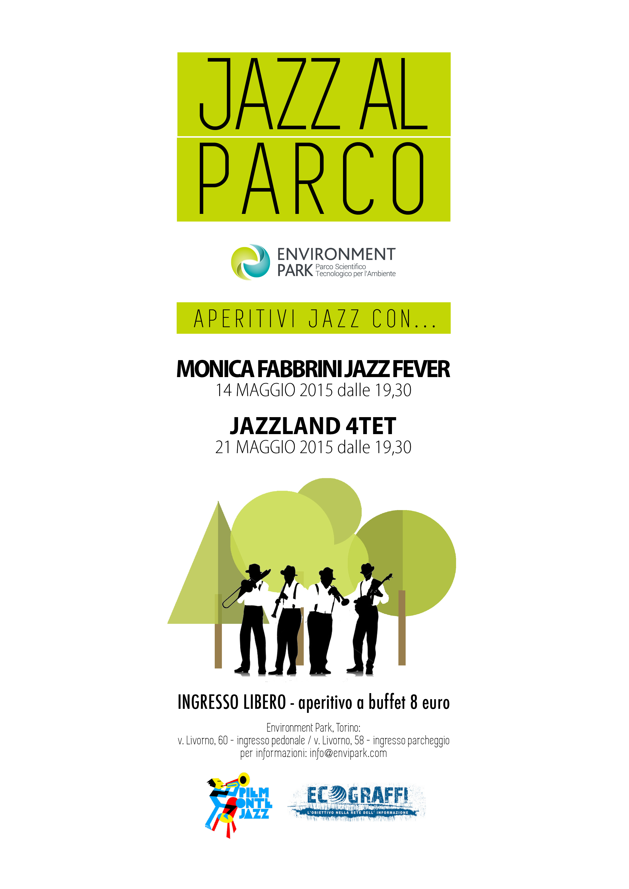 Il 21 maggio a Torino Envipark tra musica e innovazione