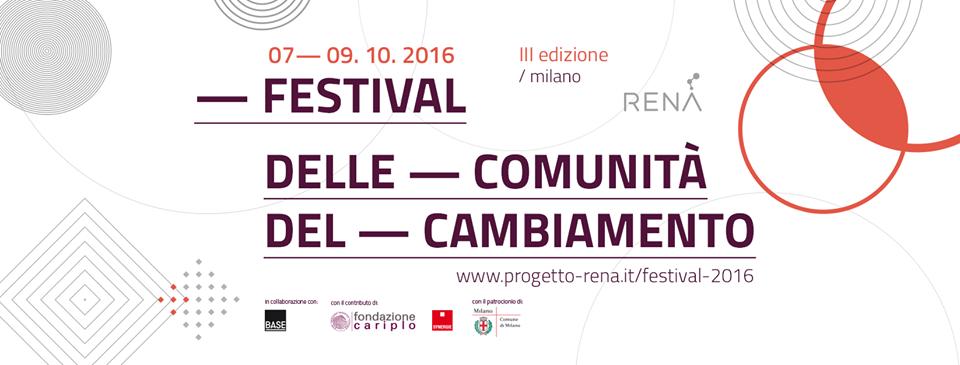 Festival delle Comunità del Cambiamento 2016