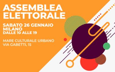 Assemblea elettorale 26 gennaio, Milano